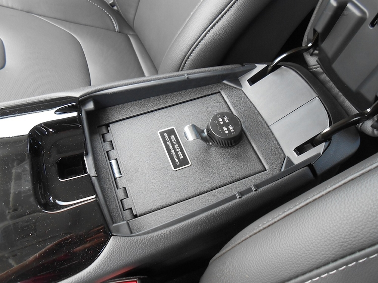 Ford Fusion Console Vault