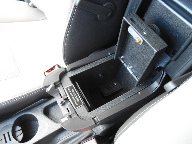 Ford Transit Connect Console Vault
