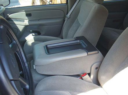Chevrolet Silverado Fold Down Armrest Console: 2003 - 2013