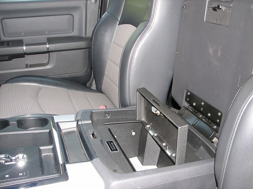 Dodge Ram 1500 Full Floor Console 2009 2018